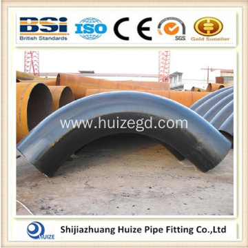 Bend Pipe Fitting with Carbon Steel & Black Painting