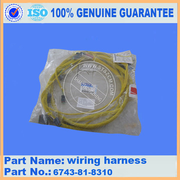 PC300-7 ENGINE WIRING HARNESS 6743-81-8310
