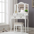 4 Drawers Vanity Dressing Table White furniture