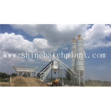Removable Cement Batch Plant