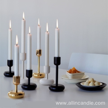 Guaranteed quality decorative colorful taper candles