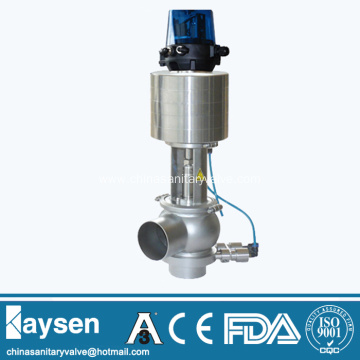 DIN Sanitary pneumatic single seat mixproof valves