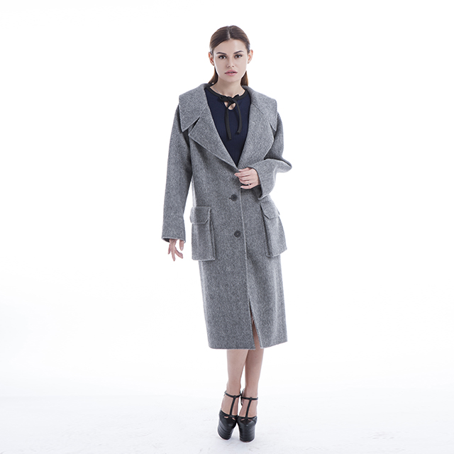 Fashionable best cashmere overcoat