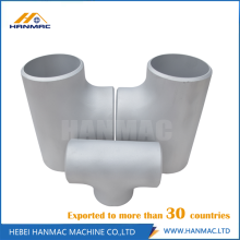 Good Quality for Aluminium Tee Fittings Alloy aluminum STD 6061T651 tee supply to Montenegro Manufacturer