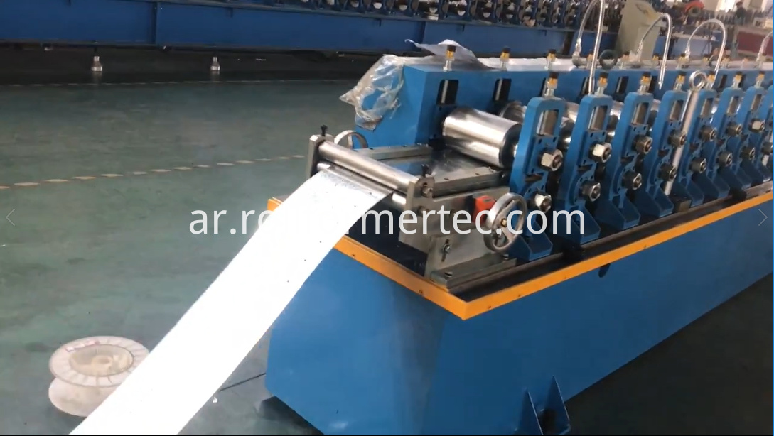 Square tube rollformers round tube roll forming machine