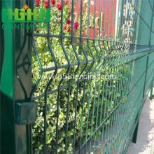 Green Color Welded Triangle Bend folding Fencing