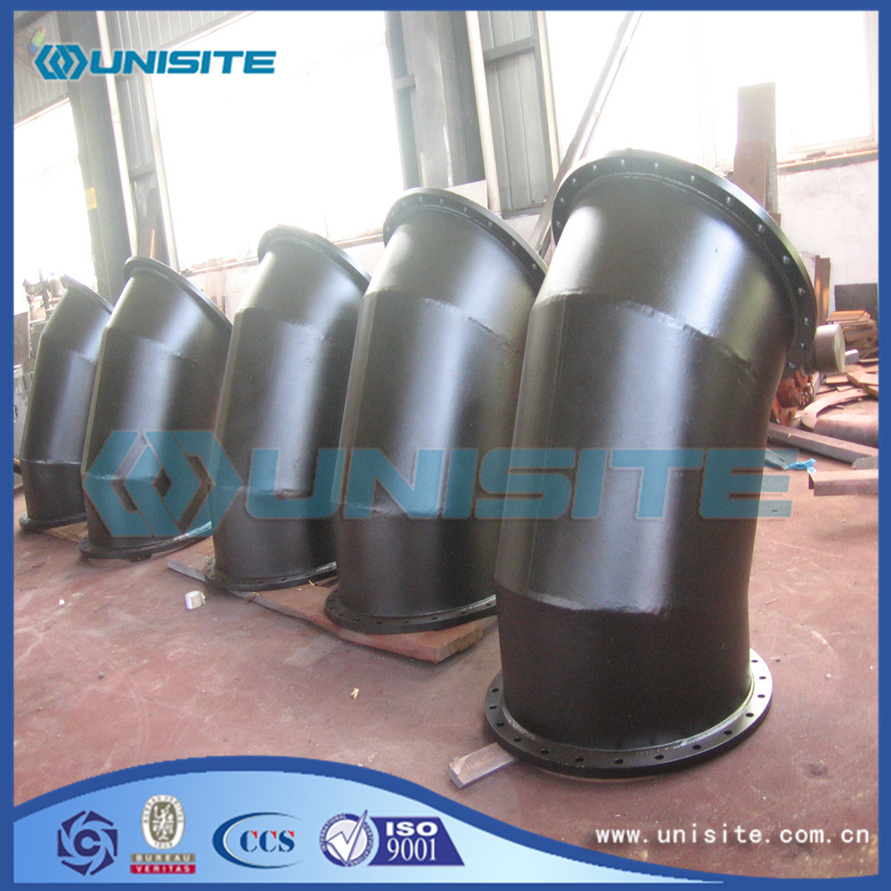 Welding steel bend fittings