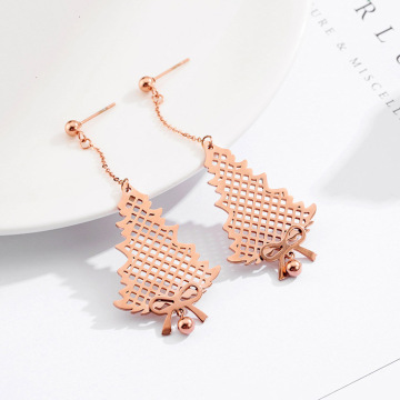 Latest Long Dainty Drop Earrings For Party