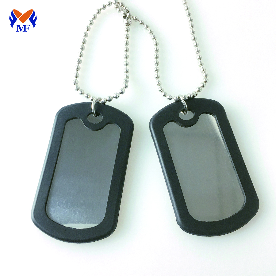 Blank Stainless Steel Dog Tag
