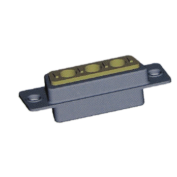 Coaxial D-SUB High Current Connector 3W3 Female
