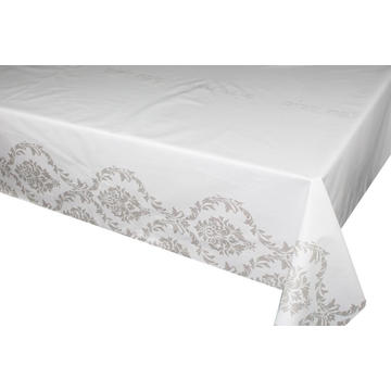 July Elegant Tablecloth with Non woven backing