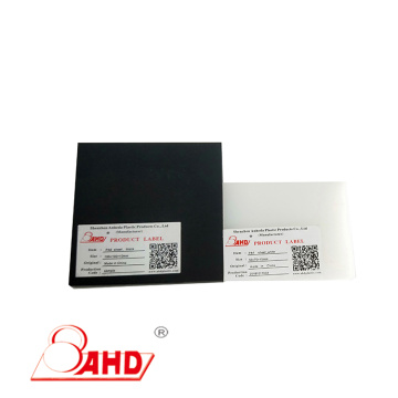 Thickness 2-100mm Black/White/Blue Color PA6 Sheets