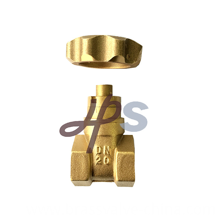 Brass Lockable Gate Valve With Magnetic