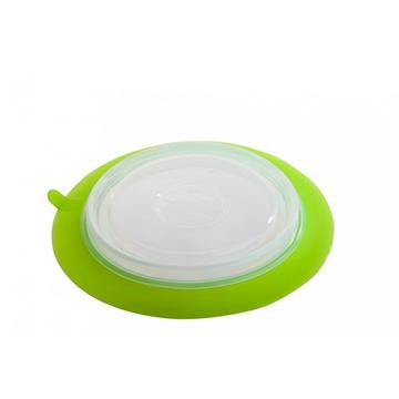 BPA free Silicone Foldable Collapsible Plate Topper