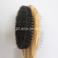 Massagem Bamboo Handle Dog Grooming Brush