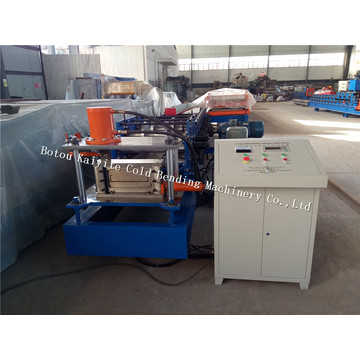 Steel Building Structure Adjustable C purlin Machine