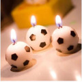 Supply birthday cake football candle for birthday party