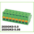 3.81mm Pitch Green Connector 2p-4p Pluggable Terminal Block