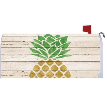 Custom outdoor magnet FARMHOUSE PINEAPPLE Mailbox Cover