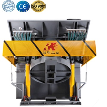 Electric melting Crucible furnace for steel aluminium