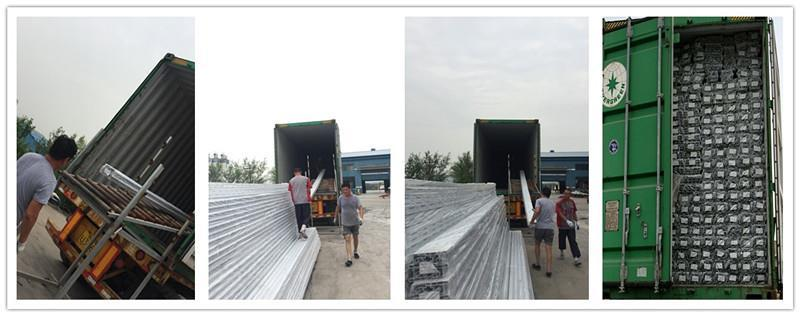 packaging pvc profile