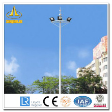 Round Powder Coating High Mast Poles