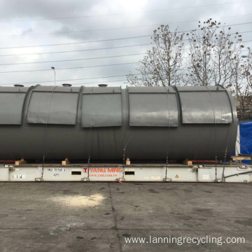 Lanning Rubber Waste Recycling Machine