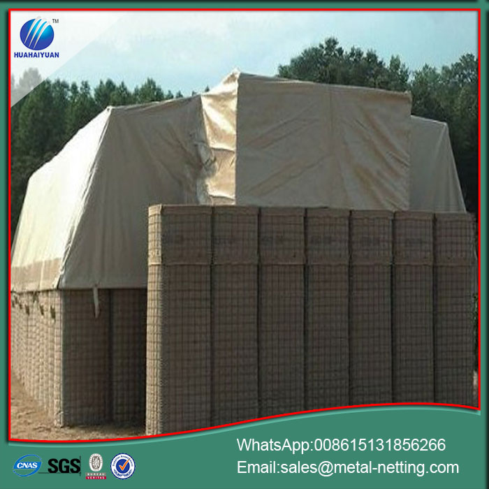 hesco wall barrier