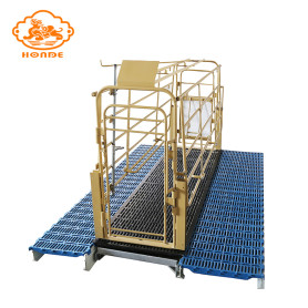 Pig Farming Equipment With Farrowing Crates