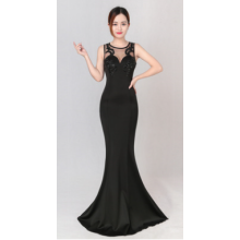 Sexy fashionable fishtail gown