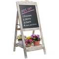 Freestanding Chalkboard Message Board Easel