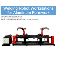 Supply for Robot Scaffolding Automatic Welding Machine, Industrial Welding Robots,Door Frame Scaffolding Welder Supplier in China Aluminum Formwork Welding Robot Workstation export to France Supplier