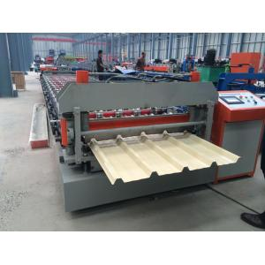 IBR roof sheet cold roll forming machine