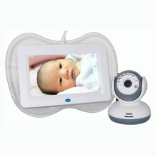7'' Wireless Baby Monitor Support 4 Picture Display
