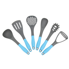 Good Quality for Nylon Kitchen Utensils,Nylon Kitchen Cooking Utensils,Nylon Kitchen Utensil Set Manufacturer in China 6Pcs BPA Free Nylon High Quality Cookware supply to India Factory