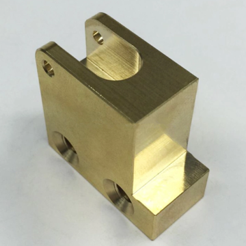 Cnc Machining parts nuts Precision Brass