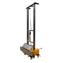 Automatic wall plastering rending machine