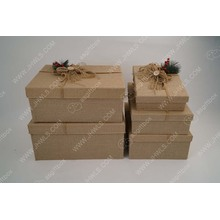 Good Quality for Christmas Gift Present Box Christmas tree decoration Xmas gift packing box sets supply to Guadeloupe Suppliers