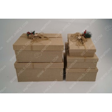 Christmas tree decoration Xmas gift packing box sets