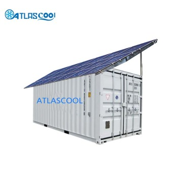Solar container cold storage room