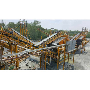 Large Conveying Belt Steel Conveyor