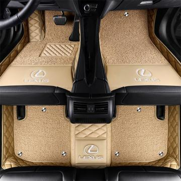 Double Layer Car Mats XPE Environmentally Friendly Materials Special for Lexus