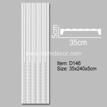 Purchasing for Door And Window Pilasters,Door And Window Panel,Sliding Window Panels Manufacturers and Suppliers in China 35cm Width Fluted Pilaster Molding supply to Poland Importers