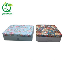 Good Quality for Tin Box For Cosmetic Wholesale small tin containers with lids supply to Russian Federation Exporter