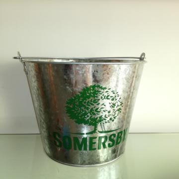portable handle bucket in home