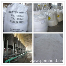 Supply for China Manufacturer of Strontium Carbonate, Barium Chloride, Hydroxypropyl Methyl Cellulose, Ammonium Persulphate, Potassium Persulfate, Sodium Persulfate Strontium Nitrate - CAS 10042-76-9 supply to Bulgaria Supplier