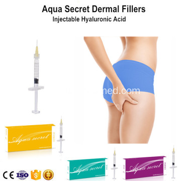 Cross-linked Dermal Filler with Buttock Injection