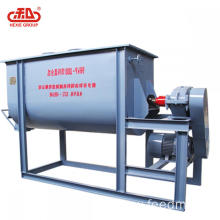 Animal feed horizontal type mixer