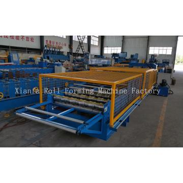 Two Profile Double Layer Steel Sheet Machine
