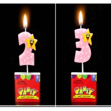 Supply high quality number birthday cake candle